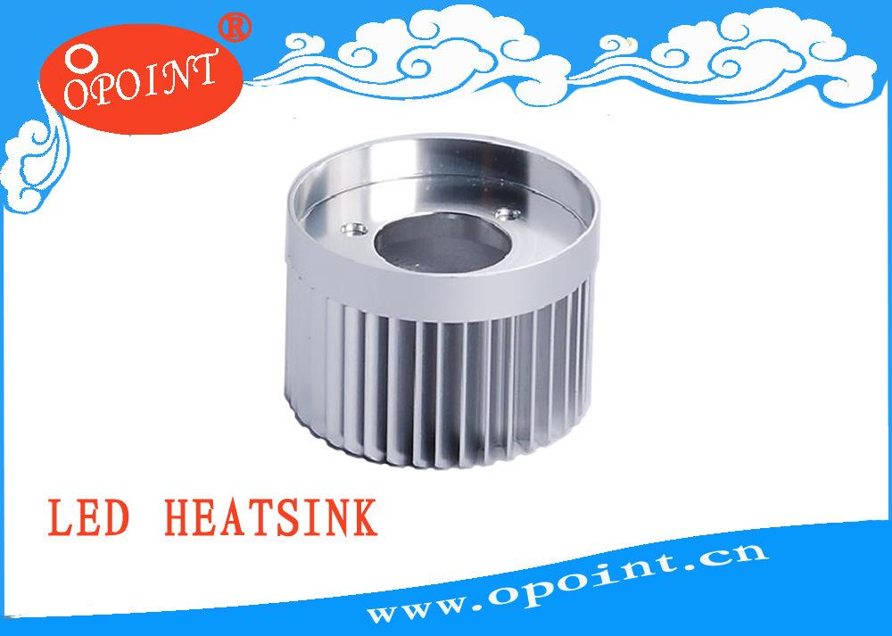Radiateur en aluminium de JG0301 LED, radiateur de LED