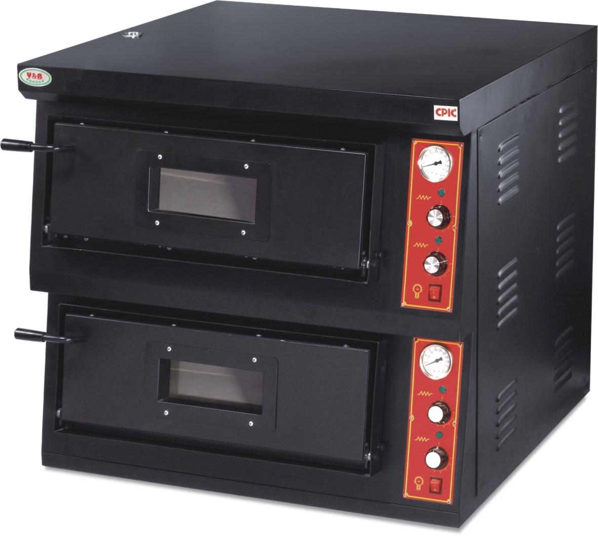 Forno elettrico commerciale professionale di cottura della for Tempo cottura pizza forno ventilato