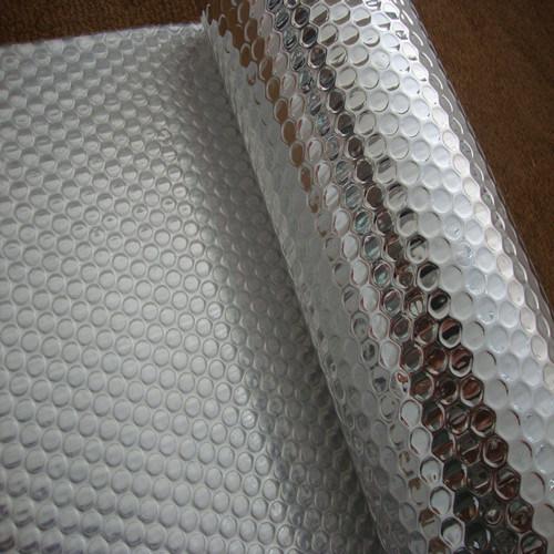 isolation soutenue de papier d 39 aluminium avec la bulle pour le mat riau de construction. Black Bedroom Furniture Sets. Home Design Ideas