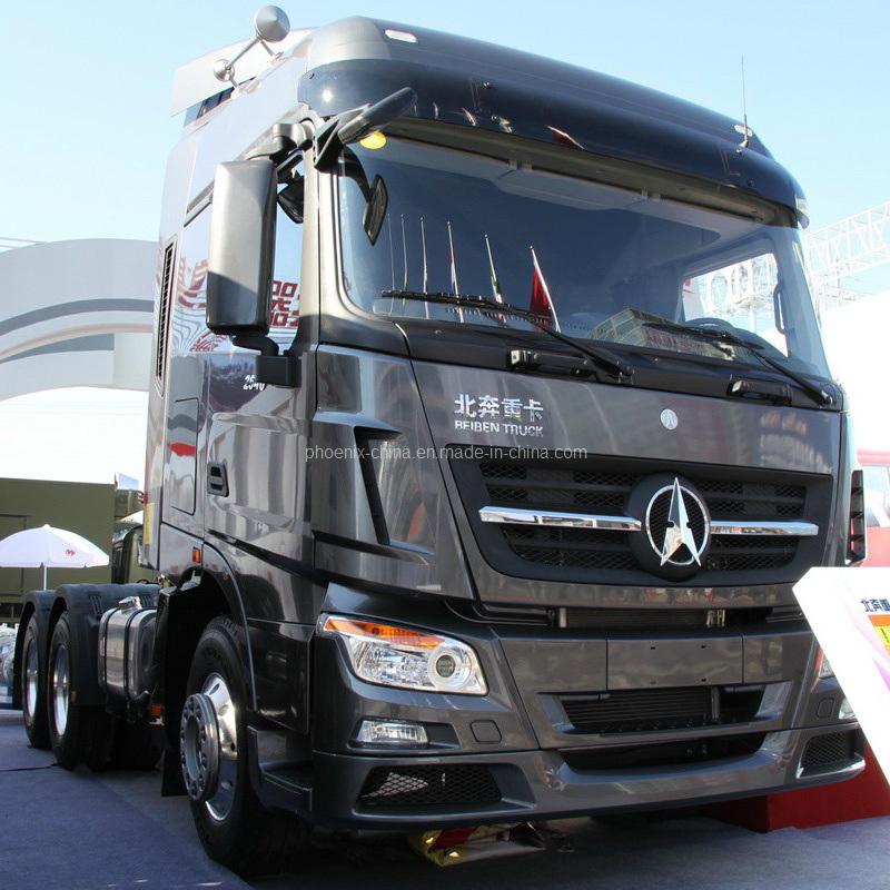 China mercedes benz beiben powerstar tractor head truck 6x4 north benz - Camion Tracteur North Benz V3 6x4 Avec Mercedes Benz