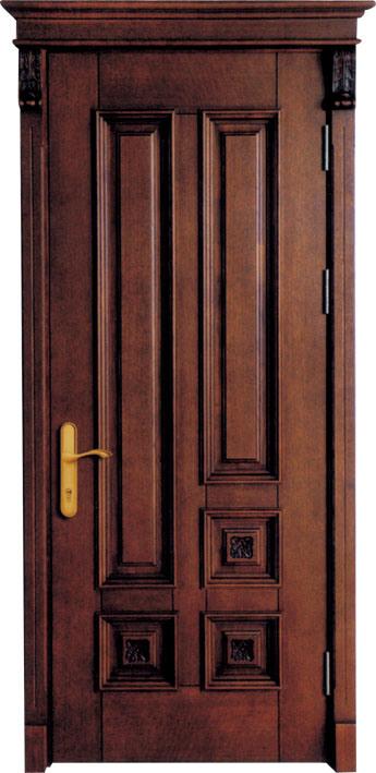 puertas de madera originales de la teca de myanmar para el