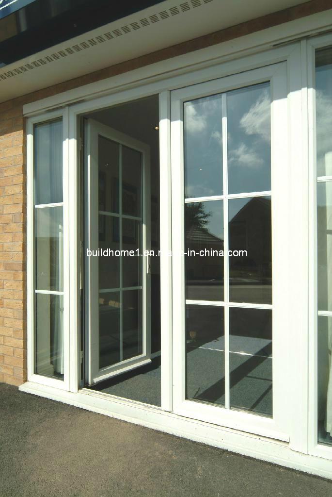 Foto de puerta francesa de aluminio esmaltada doble for Precio de puertas francesas