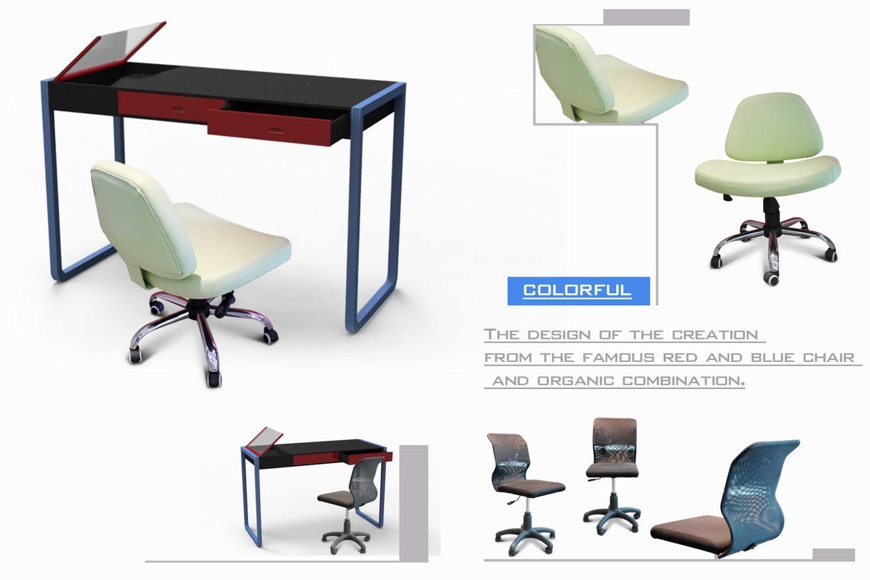 Escritorio del modelo nuevo silla de tabla de la for Silla para computadora precio