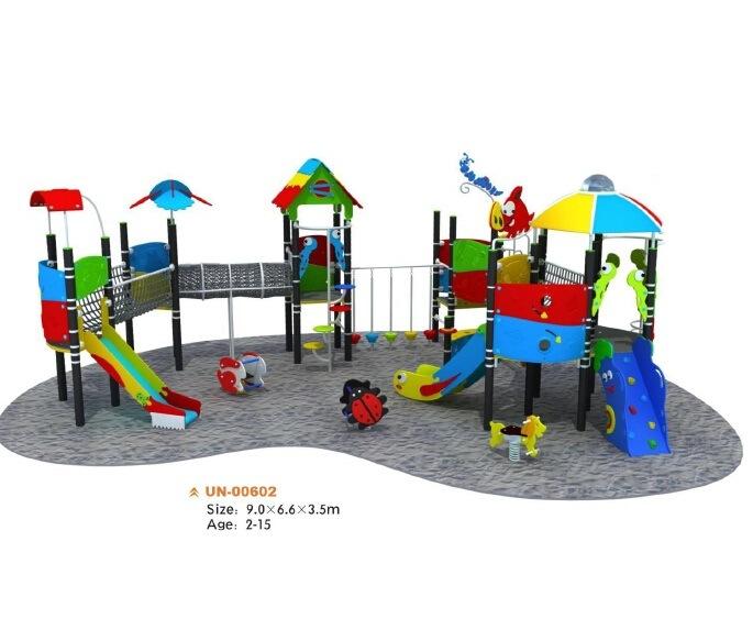 Quipement ext rieur d 39 amusement de cour de jeu d 39 enfants for Equipement exterieur