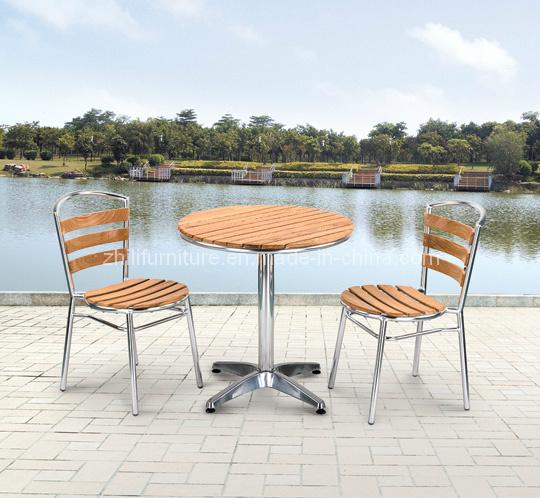 Muebles de madera del patio sistema de madera al aire libre silla de madera de aluminio nm 3 - Muebles de patio ...