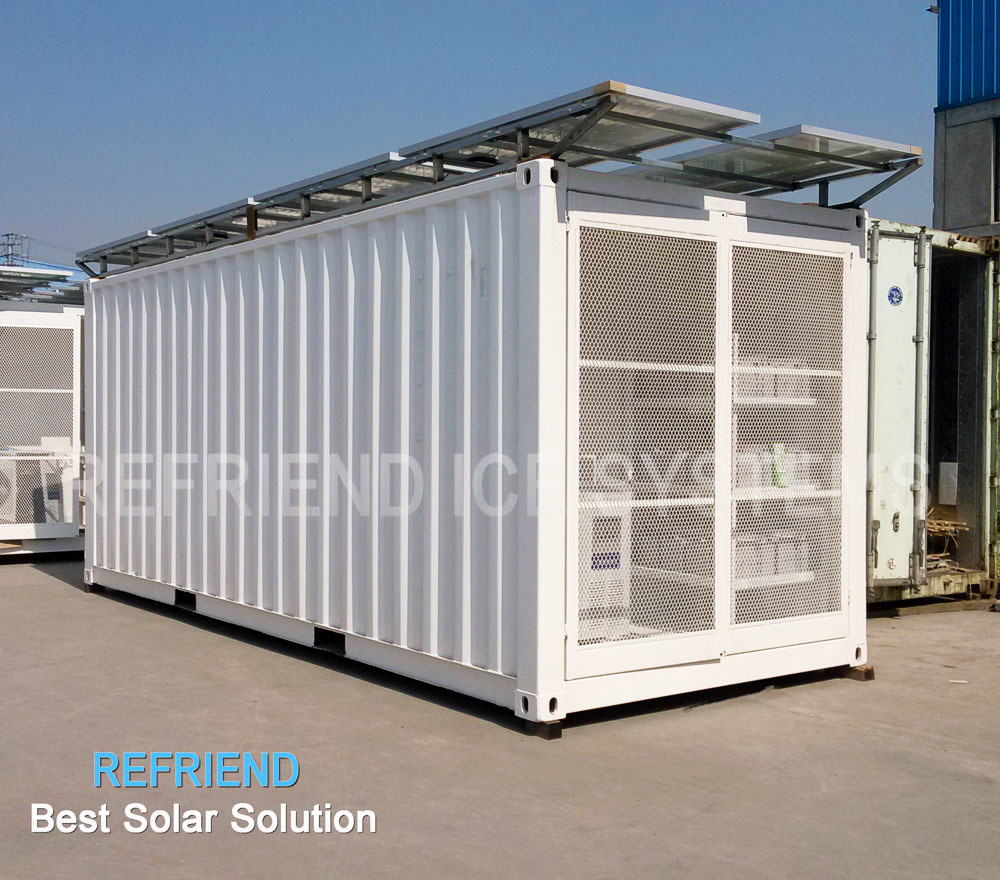Solar power container chambre froide solar power for Chambre container