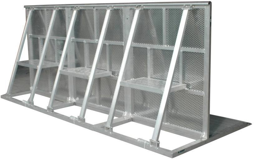Barri re en aluminium de commande de foule d 39 v nement tf for Barriere aluminium prix