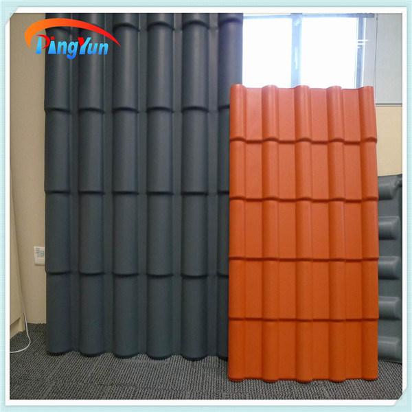 tuiles de toiture l g res en plastique de mat riaux de. Black Bedroom Furniture Sets. Home Design Ideas