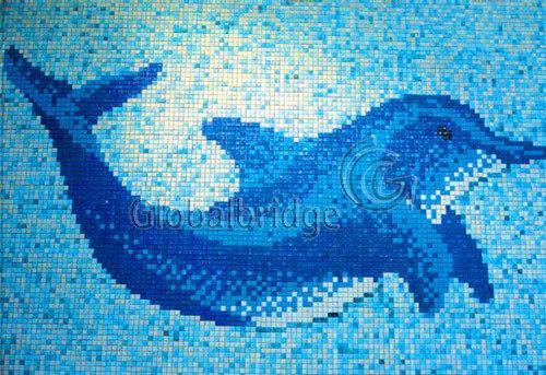 Mosaico Di Vetro Disegno Della Piscina Mu Gma01