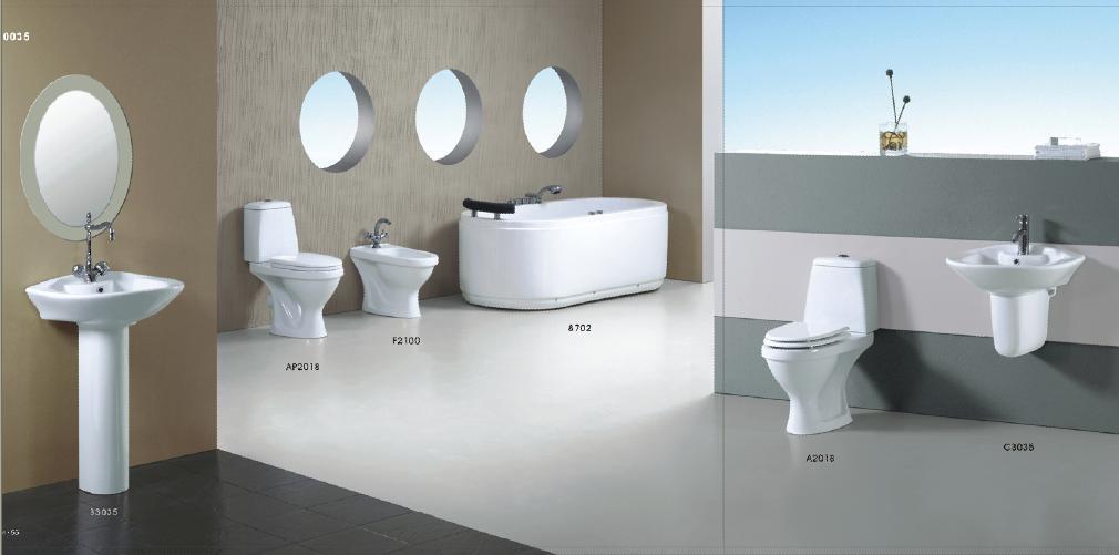 la toilette en deux pi ces mur a accroch le bassin a2018 c3035 la toilette en deux pi ces. Black Bedroom Furniture Sets. Home Design Ideas