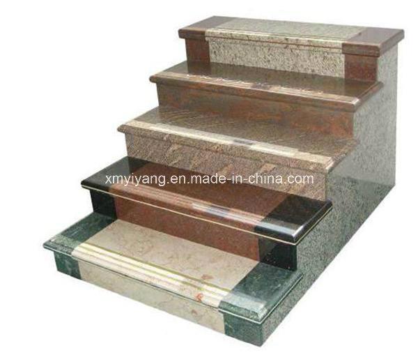 Escaleras de piedra de los pasos de la escalera del - Escalones de piedra ...