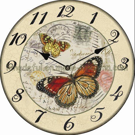 Reloj de pared de madera sjc013 17 reloj de pared de - Relojes de pared ...