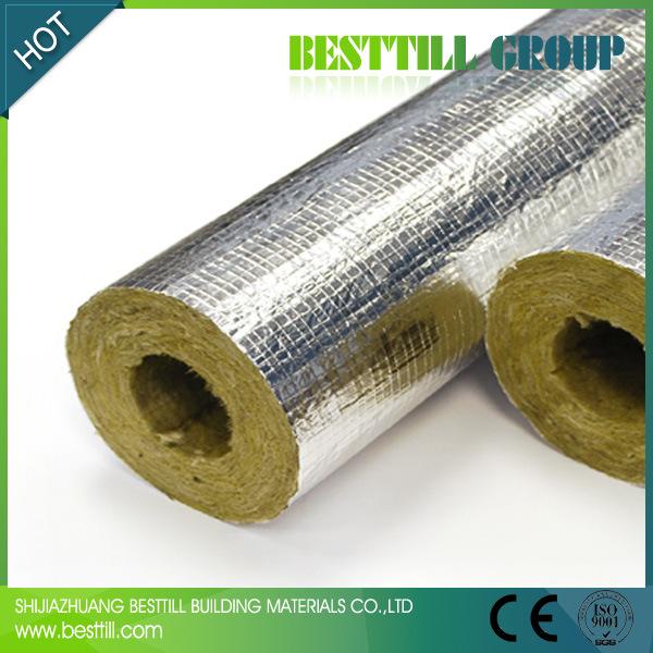 Lana mineral aislamiento de tuber as roca tubo de lana - Precio lana mineral ...