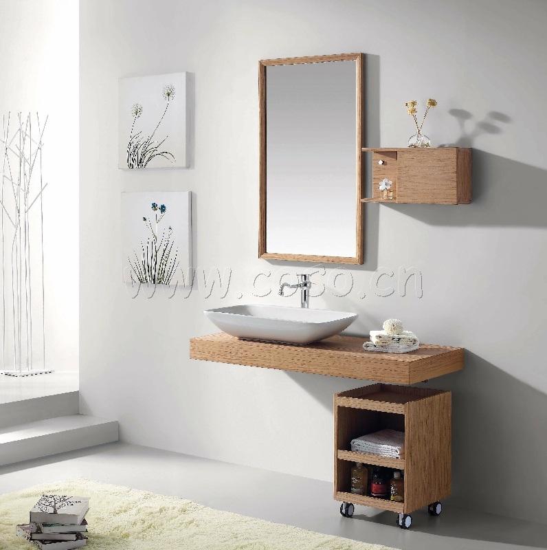 Module de salle de bains en bois cologique ew1323 for Module salle de bain