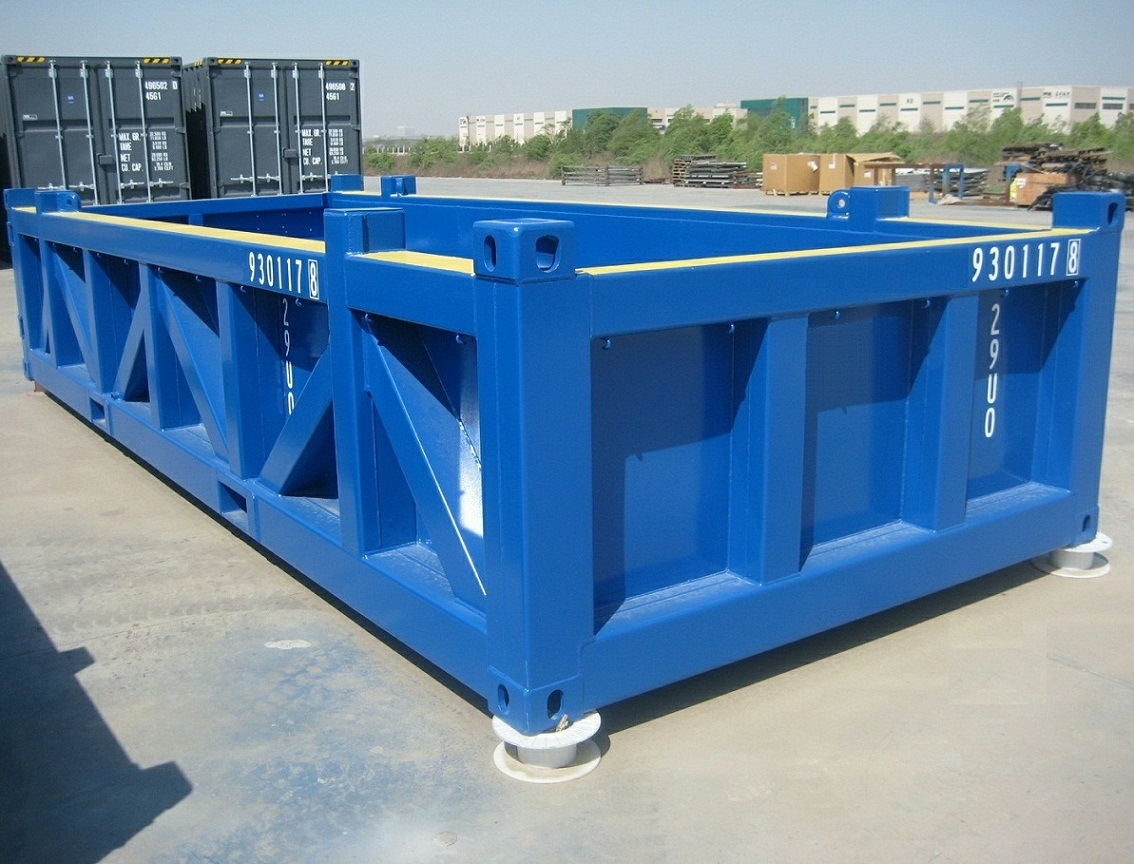 20ft half height container extraterritorial dnv2 7 1 for Container en francais