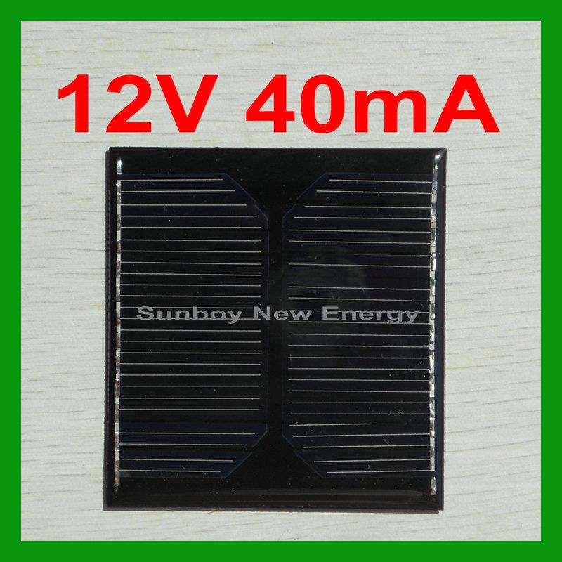 El peque o panel solar de epoxy de la resina 12v el for Panel solar pequeno
