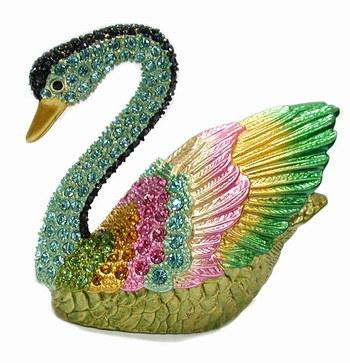 Лебедь из макаронных изделий мастер класс