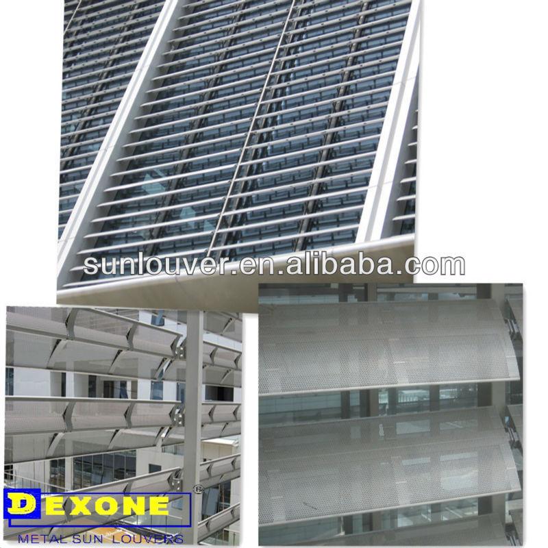 L mina perforada de la lumbrera del aluminio jpg for Cerramientos de aluminio precio por metro cuadrado