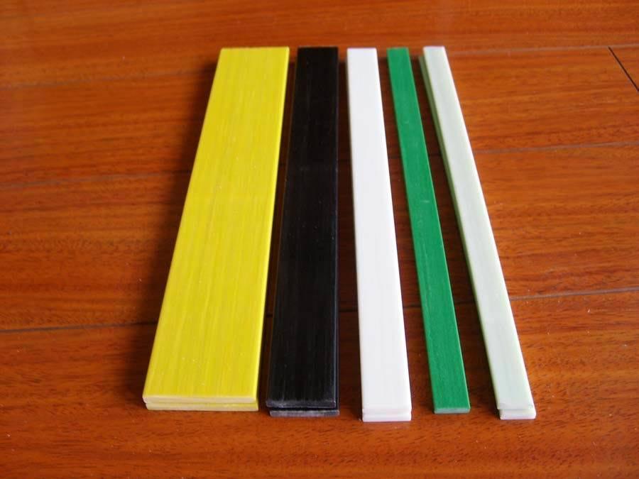 Barra rectangular de la fibra de vidrio flexible barra - Barras de fibra de vidrio ...
