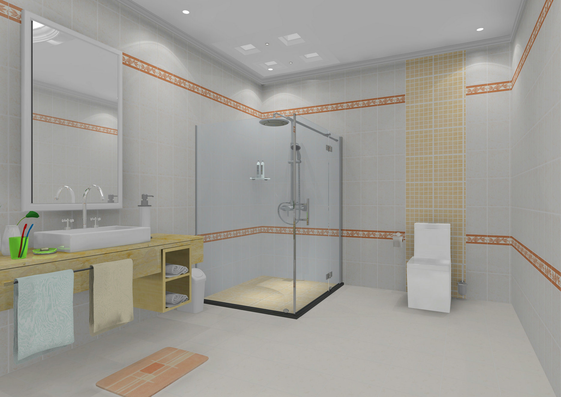 cocina y cuarto de bao de cermica azulejo de la pared x c