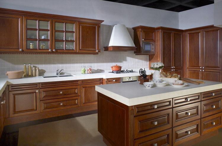 Gabinete de cocina del estilo de país (BC003) – Gabinete de cocina