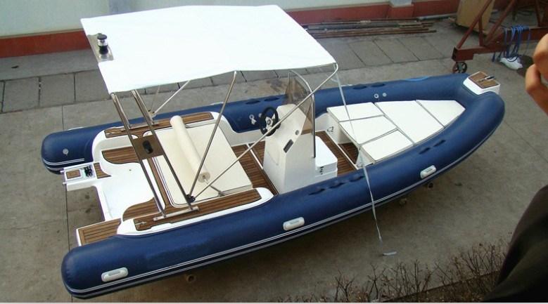 20 pieds de bateau gonflable de fibre de verre gonflable rigide de bateau avec le plancher de. Black Bedroom Furniture Sets. Home Design Ideas