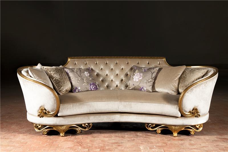 De europese klassieke bank van de stijl s021 de europese klassieke bank van de stijl s021 - Sofa van de hoek uitstekende ...