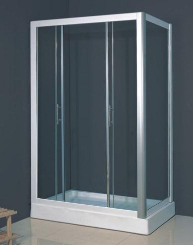 Cadre en aluminium blanc de douche de la ce cadre en aluminium blanc de douc - Cabine de douche en aluminium ...