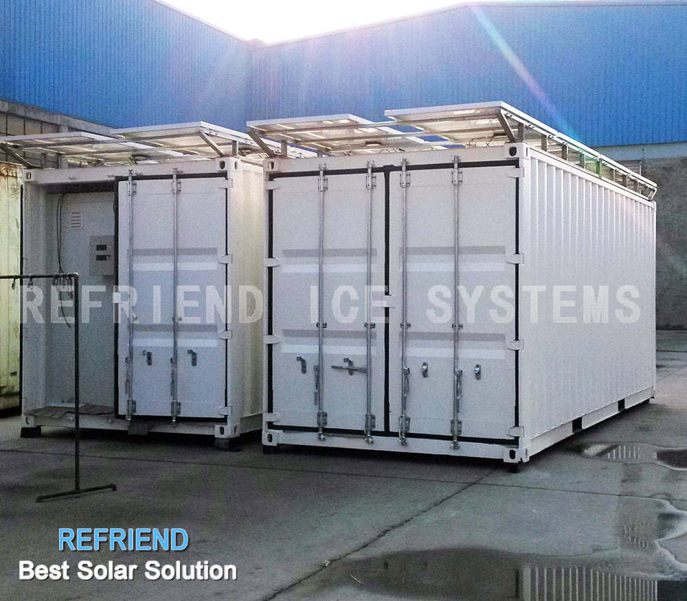 Solar power container chambre froide photo sur fr made in for Container chambre