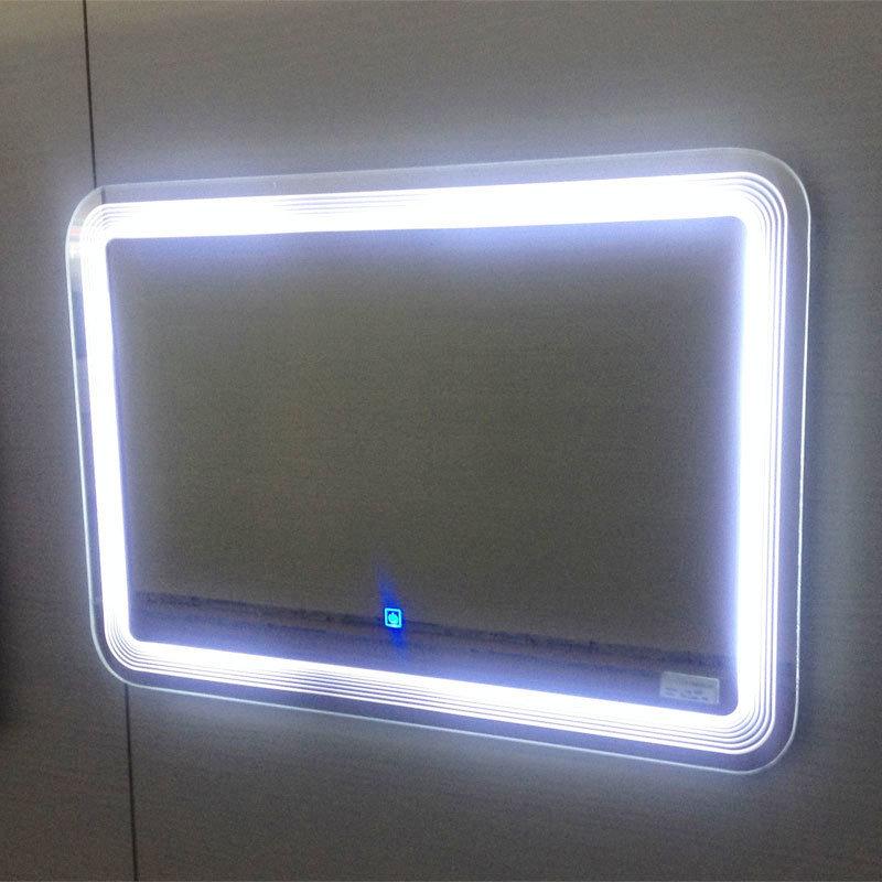 Miroir l ger lumineux bon march direct de salle de bains for Miroir usine