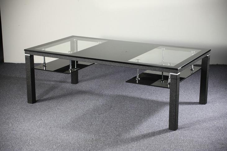 Mesa de centro moderna del acero inoxidable ctm 759 mesa de centro moderna del acero - Muebles de vidrio ...