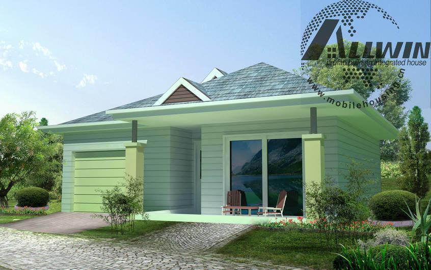 Casa prefabricada de la estructura de acero de la quilla - Casa prefabricada acero ...