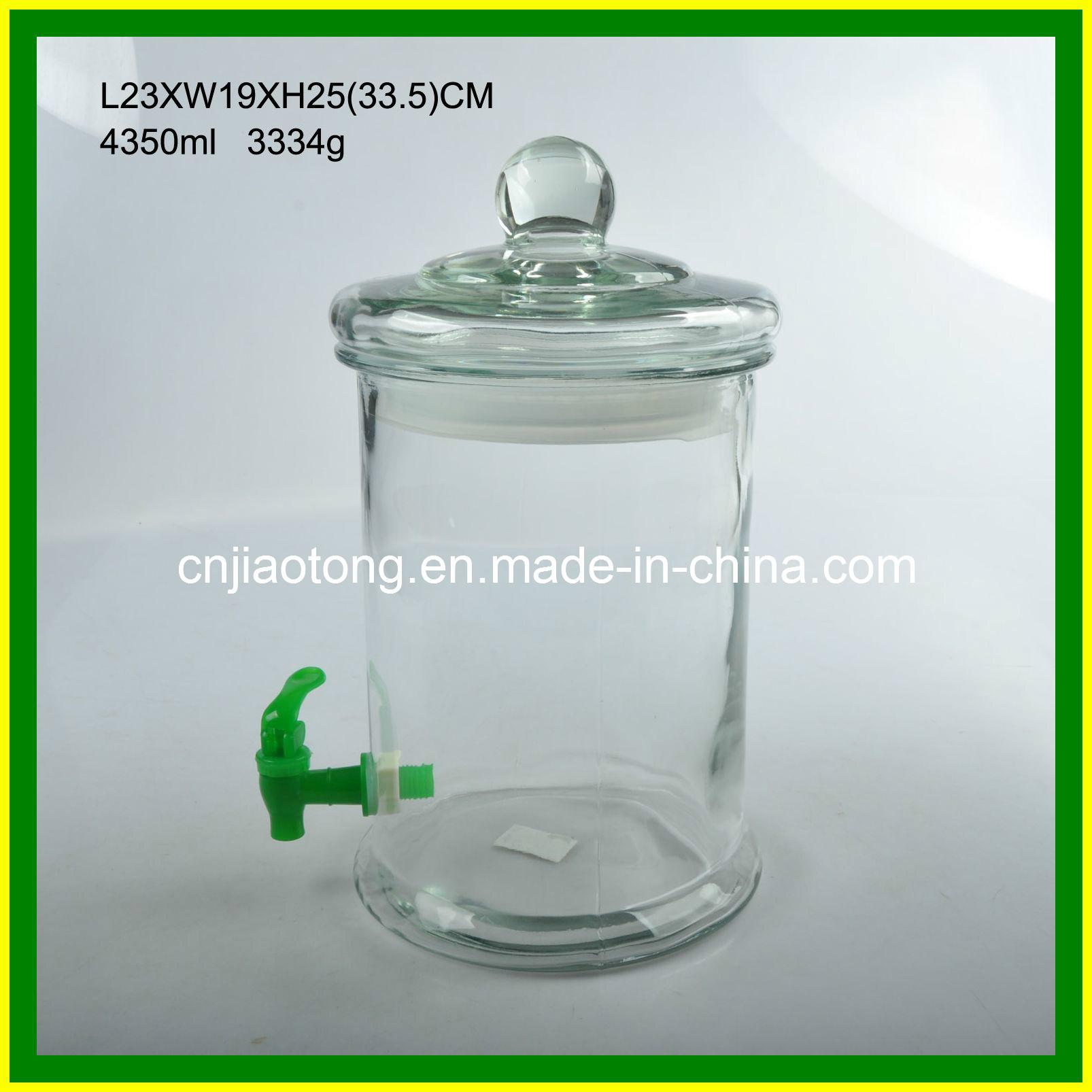 distributeur en verre de l 39 eau de cylindre avec le robinet distributeur en verre de l 39 eau de. Black Bedroom Furniture Sets. Home Design Ideas