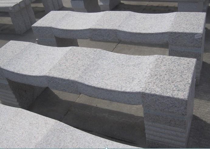 granite en pierre bench pour le jardin plaza granite en. Black Bedroom Furniture Sets. Home Design Ideas