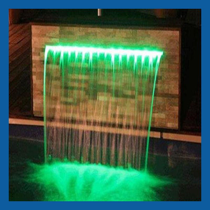 chute d 39 eau artificielle waterblade chute d 39 eau de. Black Bedroom Furniture Sets. Home Design Ideas
