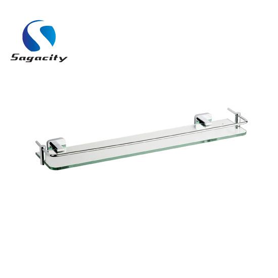 Estantes del vidrio del cuarto de ba o estantes del for Estantes vidrio bano