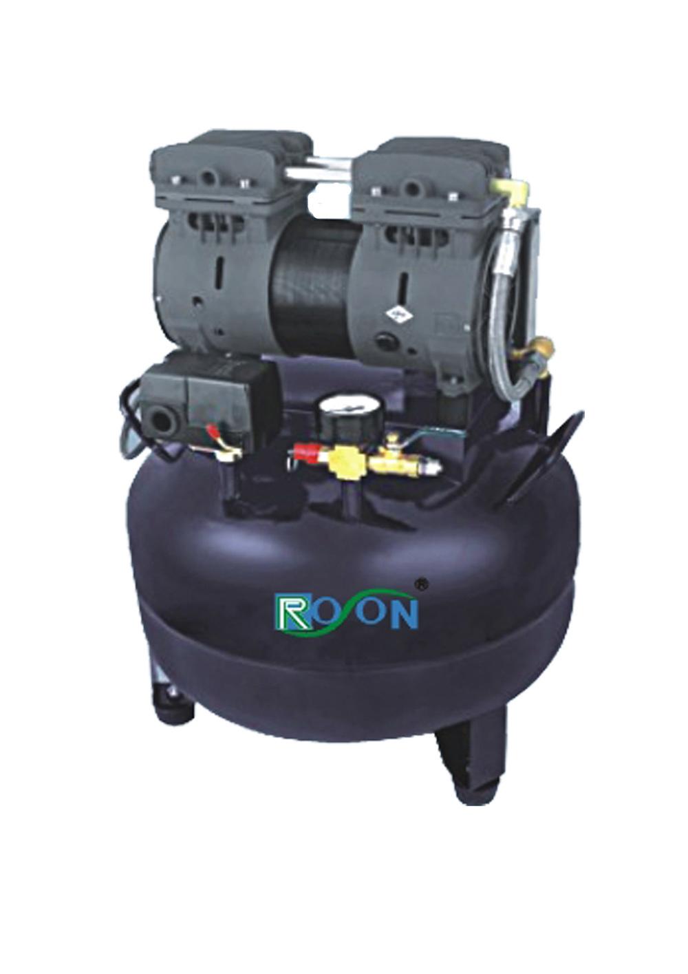 Foto de compresor de aire dental silencioso de oilless en for Compresor de aire silencioso