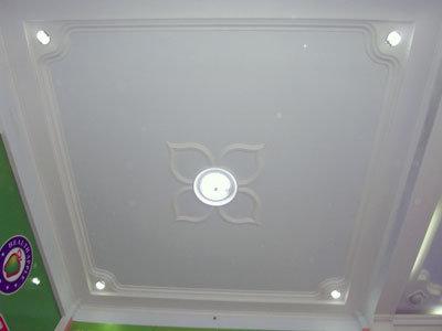 Techo suspendido de la tarjeta de yeso del pvc techo for Disenos de techos en yeso
