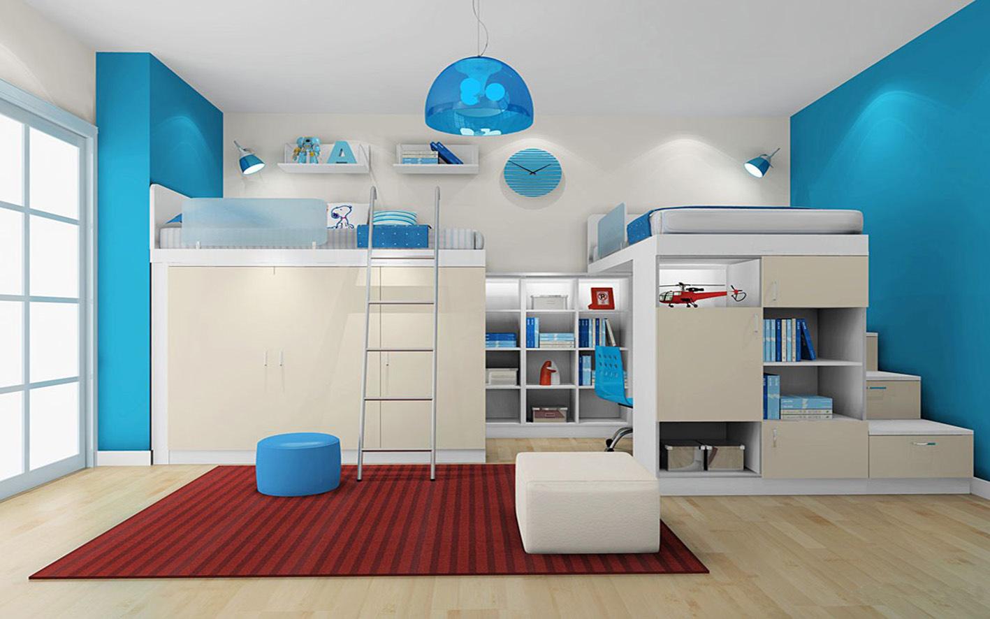 inicio italiana melamina cama para nios dormitorio juego de muebles et