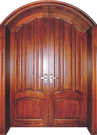 Puertas arqueadas de madera s lida del dise o puertas for Puertas diseno italiano