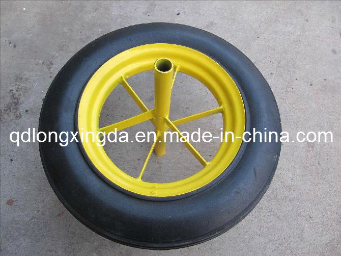 Roue pleine en caoutchouc de 13 pouces roue en caoutchouc pleine roue pleine en caoutchouc de - Roue de brouette pleine ...