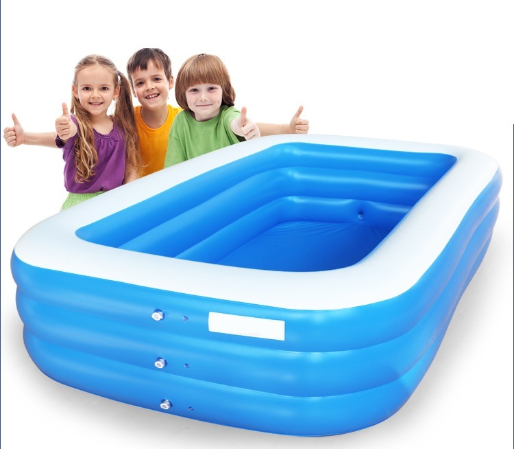 Pool infl vel toys piscina water park para family pool for Piscinas toy
