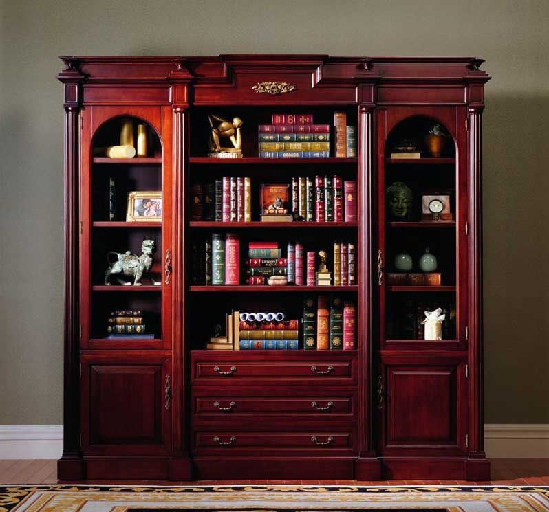 Estante para libros antiguo abc001 de madera s lida - Estantes para libros ...