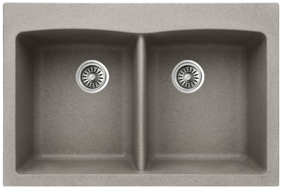 Fregaderos compuestos de los fregaderos de cocina del granito bmcs at03 fregaderos - Fregadero de granito ...