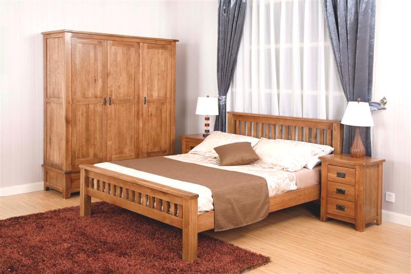 Furniture 나무로 되는 rustic oak range 침실 set 월요일 chique