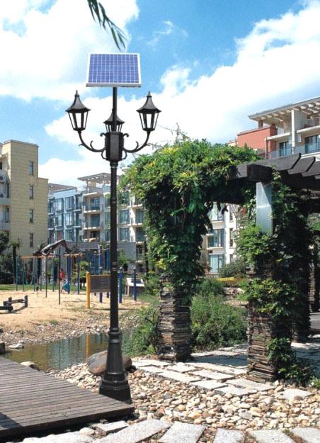 Luces solares de 60w led para la iluminaci n del jard n for Iluminacion solar de jardin