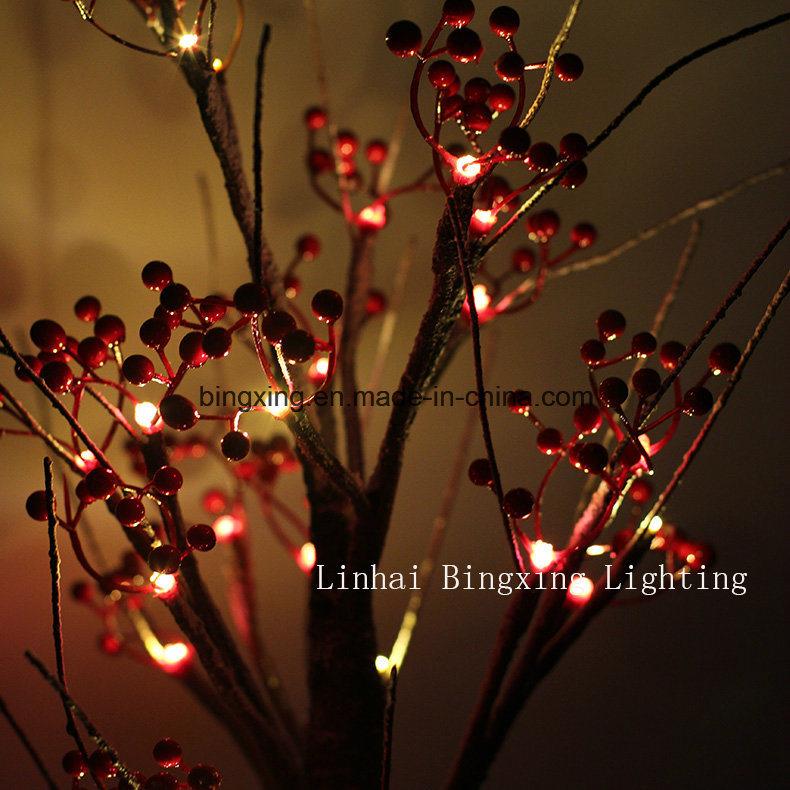 LED 실내 조명 배터리 홈 테이블 톱 크리스마스 장식 벚꽃 눈 나무 ...