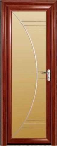 Puerta de aluminio del cuarto de ba o bcr a 3156 for Puertas de aluminio para habitaciones