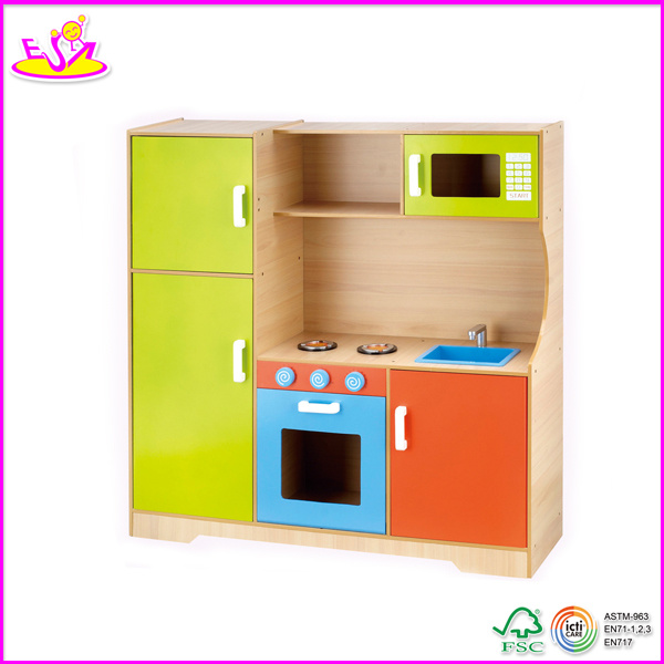 Foto de tama o grande de madera de cocina de juguete for Cocina de juguete step 2