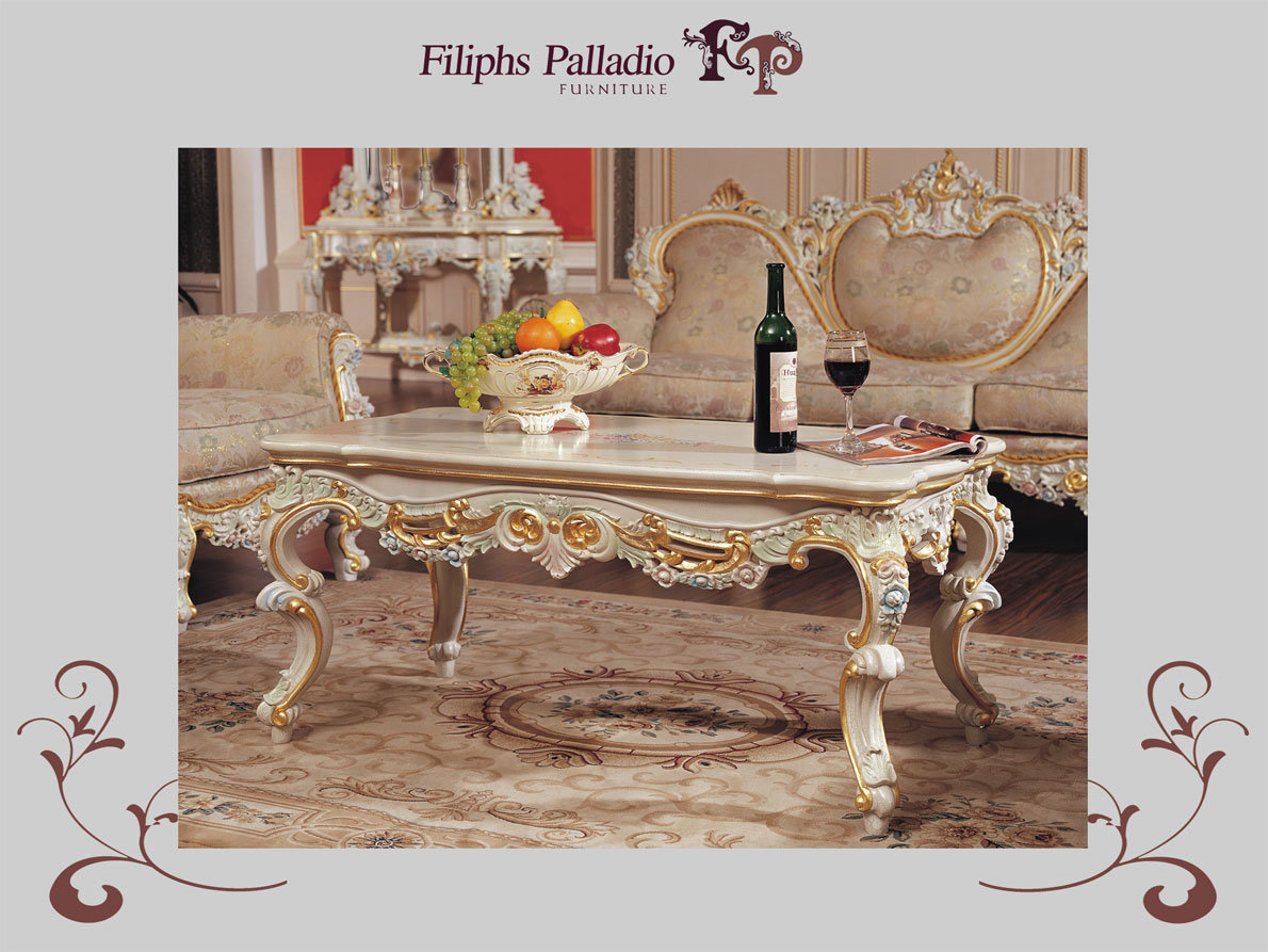 Mesa de centro mueble italiana casera de lujo c9401 for Centro mueble